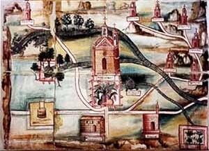 Mapa colonial de Guatemala [University of Wisconsin]