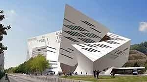 Creative Media Centre - Universidad de Hong Kong, Hong Kong, China [Studio Daniel Libeskind]
