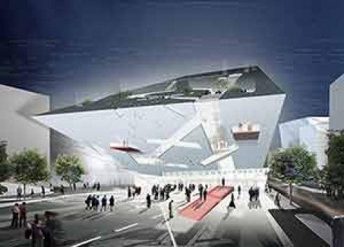Grand Canal Theatre, Dublín, Irlanda [Studio Daniel Libeskind]