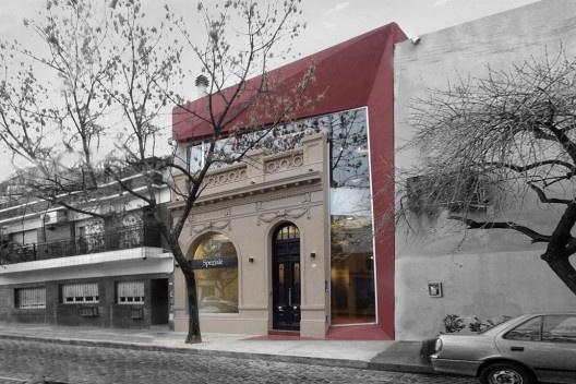 Obra comercial en el barrio de Palermo, Buenos Aires