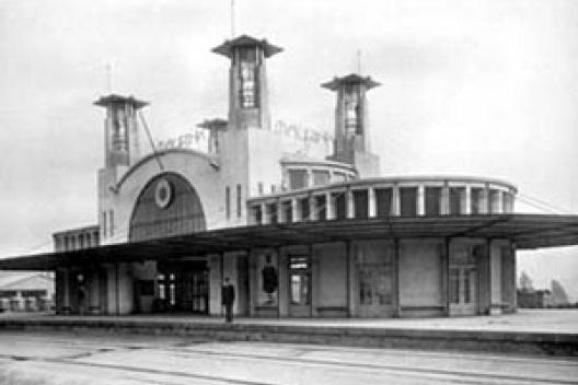 Estação Ferroviária de Mairinque, arquiteto Victor Dubugras, 1907<br />Foto arquivo FAU USP