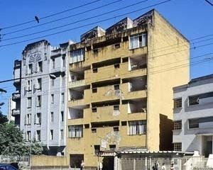 Edifício de apartamentos na Avenida Angélica, arquiteto Júlio de Abreu<br />Foto Hugo Segawa