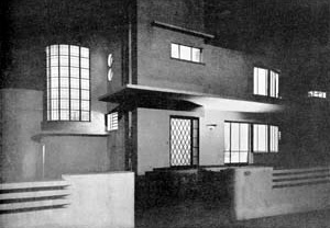 Residência na rua Ceará, arquiteto Jayme Fonseca Rodrigues, 1935<br />Reprodução revista Acrópole