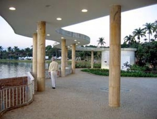Casa do Baile, arquiteto Oscar Niemeyer<br />Foto Hugo Segawa