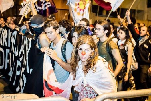 Movimento Passe Livre, manifestações de 07 de junho de 2013<br />Foto Gianluca Ramalho Misiti  [Creative Commons]