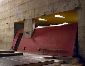 Entrada de luz zenital, La Tourette [Columbia University, Department of Art History and Archæology]