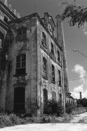 Estrutura existente da antiga fábrica Tacaruna
