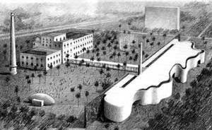 Centro Cultural Tacaruna, perspectiva do projeto de reforma do escritório Brasil Arquitetura