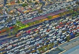 """Terminal intermodal """"Indios Verdes"""" na saída a Pachuca"""