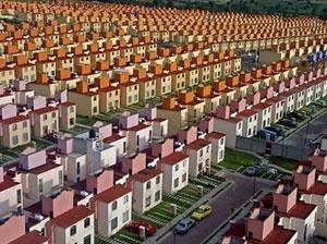 Conjunto habitacional em Tecamac estado do México