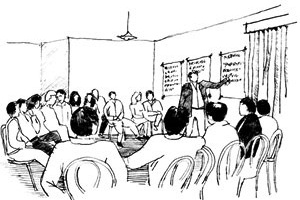 Participação na elaboração do PDV<br />Ilustração Ítalo Stephan