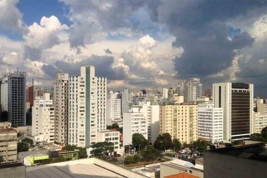 Vista da região dos Jardins, São Paulo<br />Foto Abilio Guerra