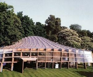 Pavilhão Serpentine de Londres. Álvaro Siza e Eduardo Souto de Moura, 2005