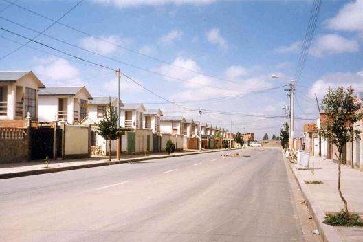 Conjunto residencial Madrid, 1991