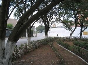 """Praça"" Daniel B. Villasol. Ao fundo, rua José T. Miranda<br />Foto Vladimir Bartalini"