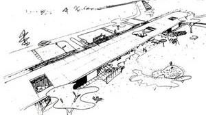 Parasol houses, Louis Kahn e Storonov, 1944-45, não construída [BROWNLEE; DE LONG]
