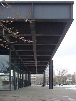 Galeria Nacional de Berlim, Mies Van der Rohe, 1960-68, Berlim<br />Foto Liliane Lemos