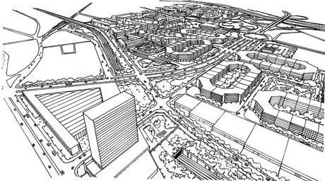 Figura 7 – Projeto Bairro Novo: Arquiteto Euclides Oliveira, Arquiteto Dante Furlan e Arquiteta Carolina de Carvalho