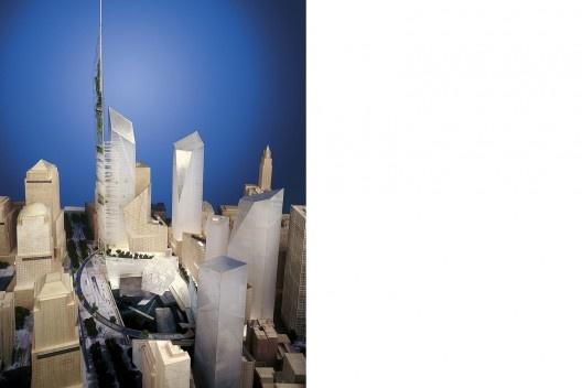 Concurso para reconstrução do local do World Trade Center, Studio Daniel Libeskind [Lower Manhattan Development Corporation]