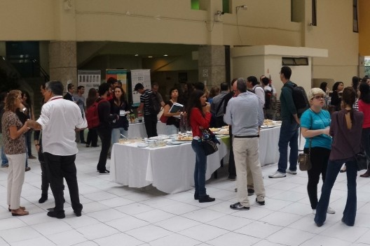 XIX Sigradi Florianópolis 2015, coffee break<br />Foto Regi Pupo