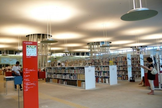 Mediateca de Sendai, Toyo Ito<br />Foto scarletgreen  [Wikimedia Commons]