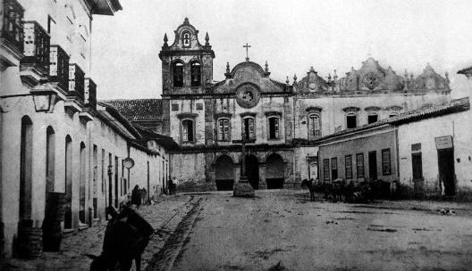 Largo do Capim, Cruzeiro e Igrejas, 1860<br />Foto Militão Augusto de Azevedo