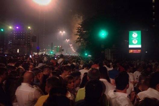Passagem de ano 2015/2016 na Avenida Paulista, São Paulo<br />Foto Abilio Guerra