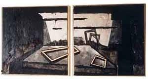 """Wie man wird, was Man ist"", óleo sobre tela, 4,00 x 2,00 m, 1991"