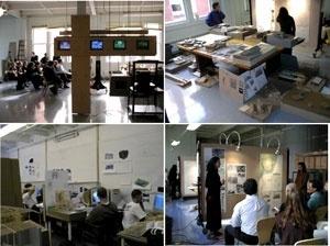 Figura 6 – Instalações do curso de Arquitetura da Penn State University (USA)