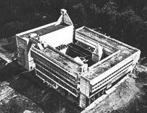 Convento de La Tourette, 1957-60. Le Corbusier