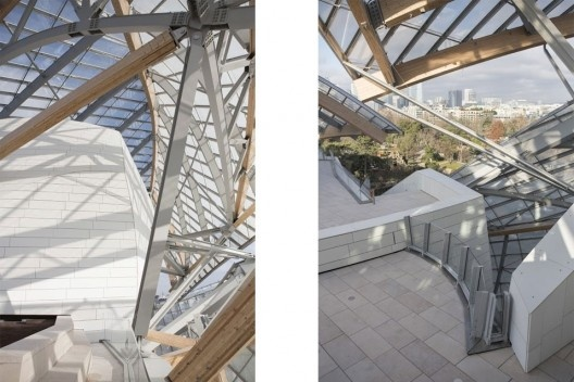 Fondation Louis Vuitton, Frank Gehry<br />Foto JB Gurliat  [Mairie de Paris - Prefeitura de Paris]