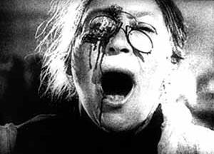 Cena do filme O Encouraçado Potenkim, de Serguei Eisenstein, União Soviética, 1925.  [EISENSTEIN, Serguei. A forma do filme, Rio de Janeiro, Jorge Zahar, 2002]