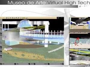 Trabajo final: Museo de Arte Virtual High Tech. Autora: Arq. Merny Pachano