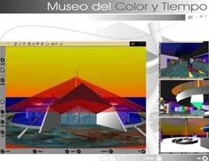 Trabajo final: Museo del Color y Tiempo. Autores: Dayana Pirela y Arq. Raúl Sánchez