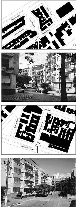 Figura 1. A estética urbana do bairro: unidade na diversidade