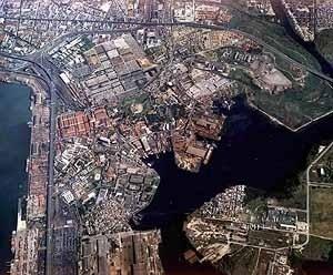 Quinta do Caju, vista aérea, Favela-Bairro, Rio de Janeiro