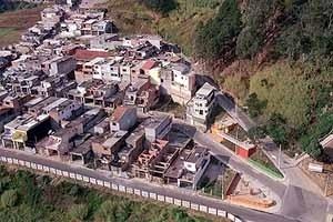 Alpes do Jaraguá, detalhes da praça, arquiteto Marcos Boldarini, Lote Legal, São Paulo