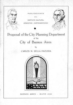 Texto de Della Paolera sobre o Plano de Buenos Aires, 1938 (Coleção CEDODAL)