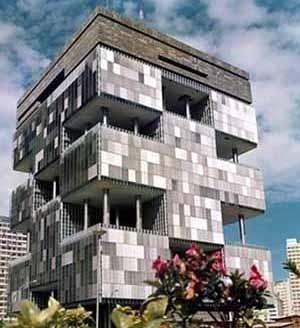 Sede da Petrobrás (1968), Rio de Janeiro, Roberto Gandolfi, José Sanchotene, Abrão Assad, Luiz Forte Netto, José Maria Gandolfi e Vicente de Castro