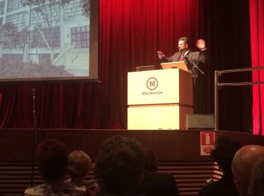 Davi Charles Gomes, chanceler da Universidade Presbiteriana Mackenzie<br />Foto Abilio Guerra