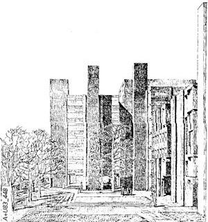 Laboratórios Richards, Filadelfia, 1957-1961. Louis Kahn