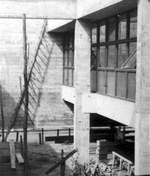Fórum de Promissão, 1959. Vilanova Artigas e Carlos Cascaldi