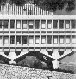 Centro de Investigações da IBM, La Gaude, França, 1960-61. Marcel Breuer