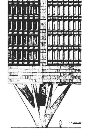 Charles Center, Baltimore, 1960. Marcel Breuer