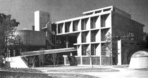 Carpenter Center, Cambridge, 1961-64. Le Corbusier