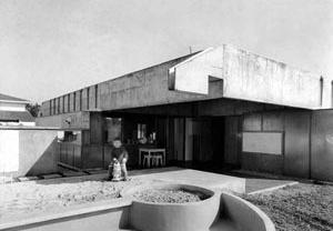 Casa Boris Fausto, 1961. Sergio Ferro