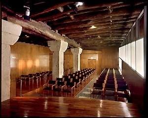 Auditório – piso 2. <br />Fotografia: Ferreira Alves