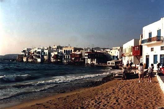 Mikonos, Grécia: som das águas do mar<br />Foto P A Rheingantz