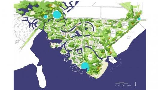 Vila Olímpica, masterplan<br />Imagem divulgação