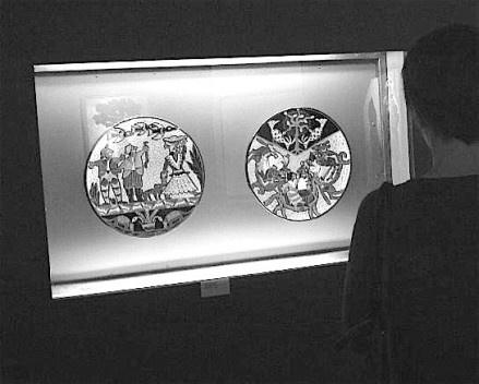 """Articulación entre lo """"culto"""" y lo popular en la cerámica de Julián de la Herrería. (""""<i>¿Mamópa Rehó Josefa?</i>"""" y """"<i>Jeroky Hápe</i>"""", ca. 1935.)<br />Obras reproducidas por cortesía de Miguel Ángel Fernández"""